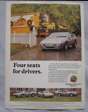 1990 Lotus Excel Original advert
