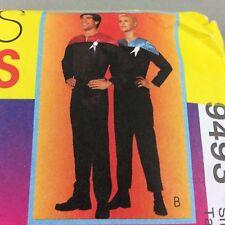Astronaut Space Suit Jumpsuit Costume Pattern McCalls 9493 Adult SM Convention