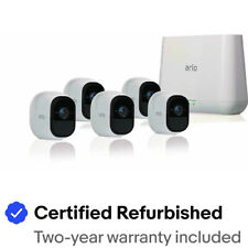 Arlo Pro 2 VMS4530P-100NAR Smart System with 5 Cameras - Certified Refurbished