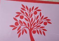 1635 Schablonen Baum Tattoo Stencil Wandbilder Airbrush Wanddekoration Mylar