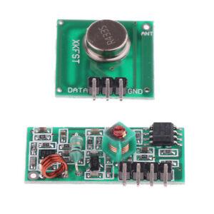 433Mhz Wireless RF Transmitter and Receiver Module Super Regeneration