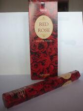 20 INCENSI india incenso ROSA ROSSA bastoncini fragranza PASSIONE aroma floreale