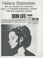 ▬► PUBLICITE ADVERTISING AD Helena Rubinstein crème SKIN LIFE  1967