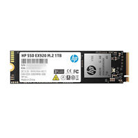 HP 2YY47AA#ABC EX920 M.2 1TB SSD PCIe 3.0 x4 NVMe 3D TLC NAND Solid State Drive