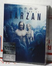 LEGEND OF TARZAN 3D+2D BLU-RAY FULL LENTICULAR SLIP STEELBOOK! HDZETA ONLY 400