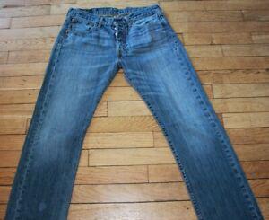 LEVIS 501 Jeans pour Homme W 31 - L 32 Taille Fr 40 (Réf # O201)