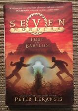 Lost In Babylon by Peter Lerangis - Seven Wonders - Hardcover Book