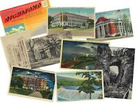 LOT of 9 Virginia VINTAGE POSTCARDS & BOOKS at $.85 each!