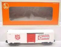 Lionel 6-26256 Salvation Army Boxcar NIB  Extremely Rare HARD TO FIND