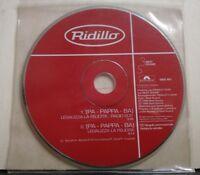 RIDILLO-(PA-PAPPA-BA)LEGALIZZA LA FELICITA' radio edit 3,40 -promozionale 1998