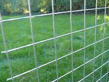 10 x Galvanised Welded Wire Mesh Panels 2400(8') x 1220(4') x 50 x 50 x 2.5mm
