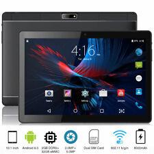10.1 pouces Tablette Tactile Android 9.0 WIFI/3G 2GB+32GB PC Double SIM GPS Noir
