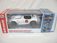 1:18 AUTO WORLD AUTO DIE CAST 1965 SHELBY COBRA 427 S/C  AWSS104