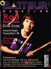 Batteur Magazine N°90 - Rod Morgenstein - Mai 1996