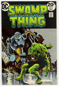 (1973) SWAMP THING #6 BERNI WRIGHTSON COVER AND ART! 4.5 / VERY GOOD+