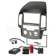 Radio Einbauset & LFB & Antennen Adapter auf JVC KW-AVX für Hyundai i30 bis 2011