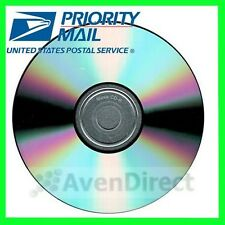 50 New Spin-X 12X Music Digital Audio Silver Shiny CD-R FREE USPS Priority Mail