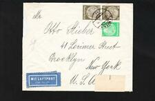 Germany WWII Frankfurt Harder To Find Censor Tape Vienna Dec15 1939 Brooklyn Z9