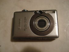 Nice Canon PowerShot SD400 Digital Camera IXUS 50