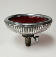 Vintage Glass dental basin Ruby Red Doctor dentist Sink Rare Glass