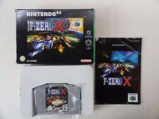 F-Zero X (n64) Top Neuf dans sa boîte *** PAL VERSION *** COMPLET ***