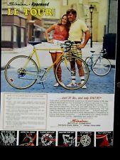 "1974 Schwinn Le Tour New And Exciting Original Print Ad 8.5 x 11"""