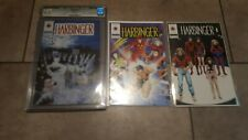 Harbinger #4  CGC 8.5  #5  #6 All Blank Coupon