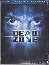 3 Dvd Box Cofanetto **THE DEAD ZONE ♦ STAGIONE QUINTA 05** nuovo 2005