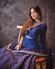 Indian bollywood saree sari lehenga choli ghagra anarkali suit long dress gown