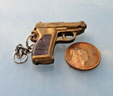 Gun Pistol Keychain, Plastic automatic Pistol Keychain