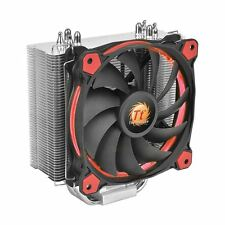 Thermaltake Riing Silent 12 CPU Cooler Heatsink Red 12cm LED Fan For Intel AMD