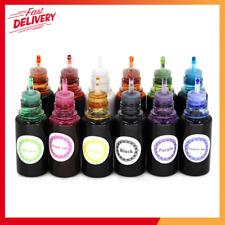 12 Colors Epoxy UV Resin Color Dye Colorant Liquid Pigment,10ml Each