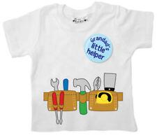 Camisetas blancas 100% algodón para niños de 0 a 24 meses