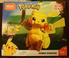 Mega Construx Pokemon Jumbo Pikachu NEW IN BOX POSE IT 32cm 12.6 INCHES SOLD OUT