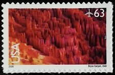 2006 63c Bryce Canyon, Utah Scott C139 Mint F/VF NH