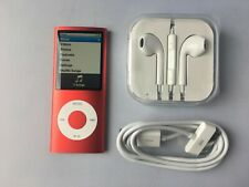 Apple iPod nano 4th Generation / chromatic Red (8GB) #3203