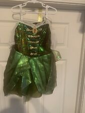 Disney Store Zarina Pirate Fairy Costume Green Child Size S 5/6 No Belt Or Wings