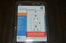 NEW GE Tamper Resistant Ground Fault Receptacle Electric Outlet
