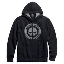 Felpa Uomo Harley-Davidson man hoodie front skull 96494-18VM/022L