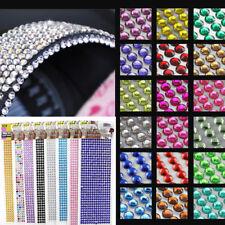 Self Adhesive Glitter Crystals Gems Jewel Stick On Diamante Decor Sticker Random