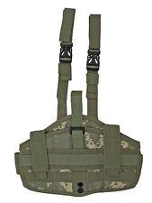 ACU Camo Gun Elite Right Handed Drop Leg Holster BB Airsoft Pistol Handgun 25772