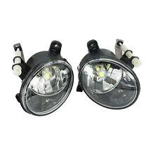 2Pcs For Audi Q5 2008-2016 Front Fog Light Fog Lamp LED Bulbs