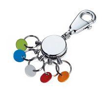 Schlüsselanhänger Schlüsselhalter Troika Patent KYR60 Organizer  Keyring glänzen