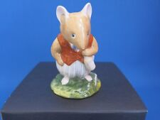 """Royal Doulton Brambly Hedge - """"Basil"""" Figurine DBH14 - First Quality - Boxed"""