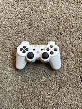 OEM SONY PlayStation PS3 DualShock 3 Sixaxis White Wireless Controller CECHZC2U