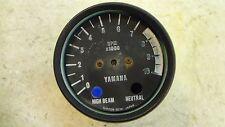 1977 Yamaha XS650 XS 650 Y368' tachometer tach gauge parts