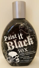 Paint It Black 50X Dark Bronzer Indoor & Outdoor Tanning Bed Lotion Millennium