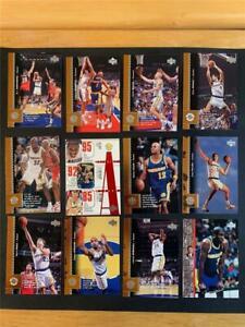 1996/97 Upper Deck Golden State Warriors Team Set 14 Cards