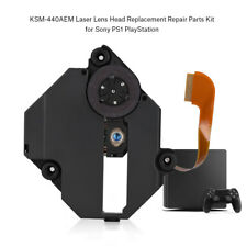 KSM-440AEM Laser Lens Testa Ricambio Nero Kit Per Sony PS1 PlayStation 1