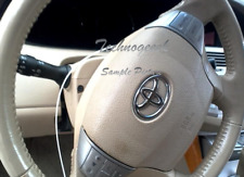 2005-2012 TOYOTA AVALON LEFT DRIVER SIDE STEERING WHEEL AIRBAG TAN 05-12 OEM